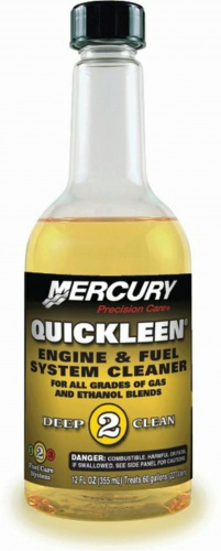 Quicksilver Quickleen Engine and Fuel System Cleaner 355 ml